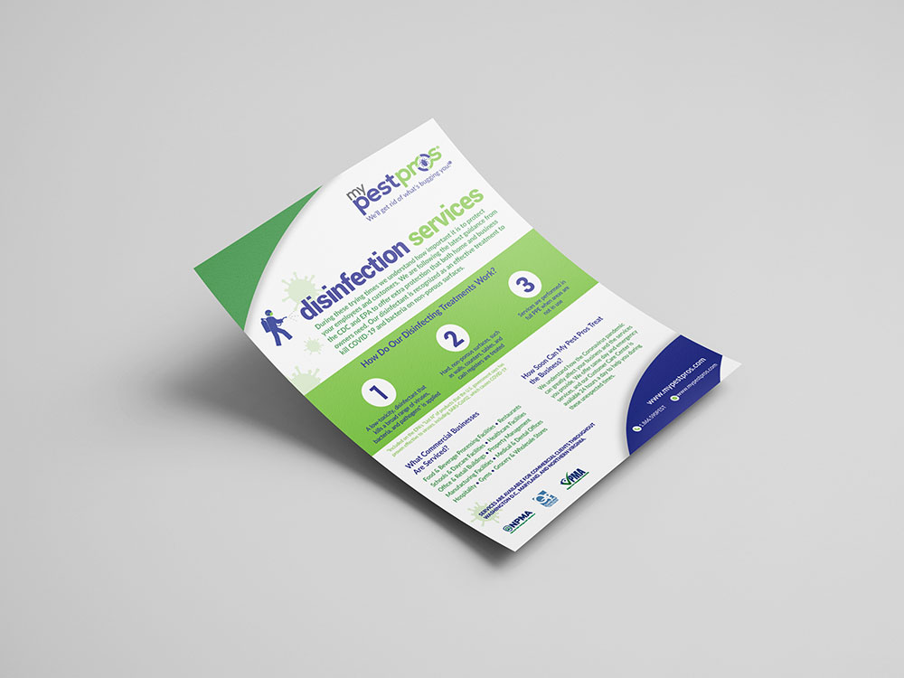 My Pest Pros - COVID-19 Disinfection Services Flyer Design