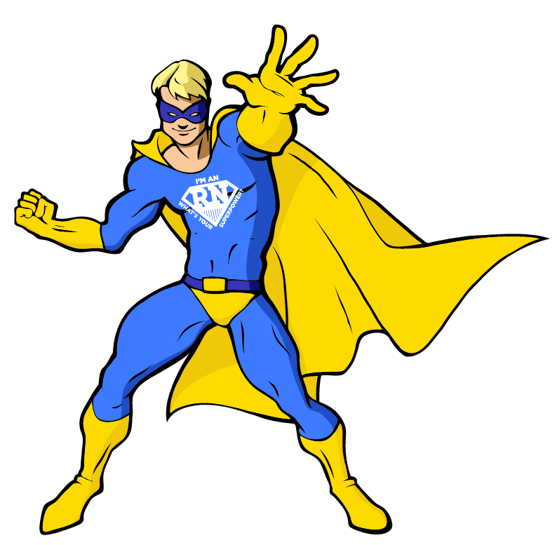 male superhero in yellow and blue