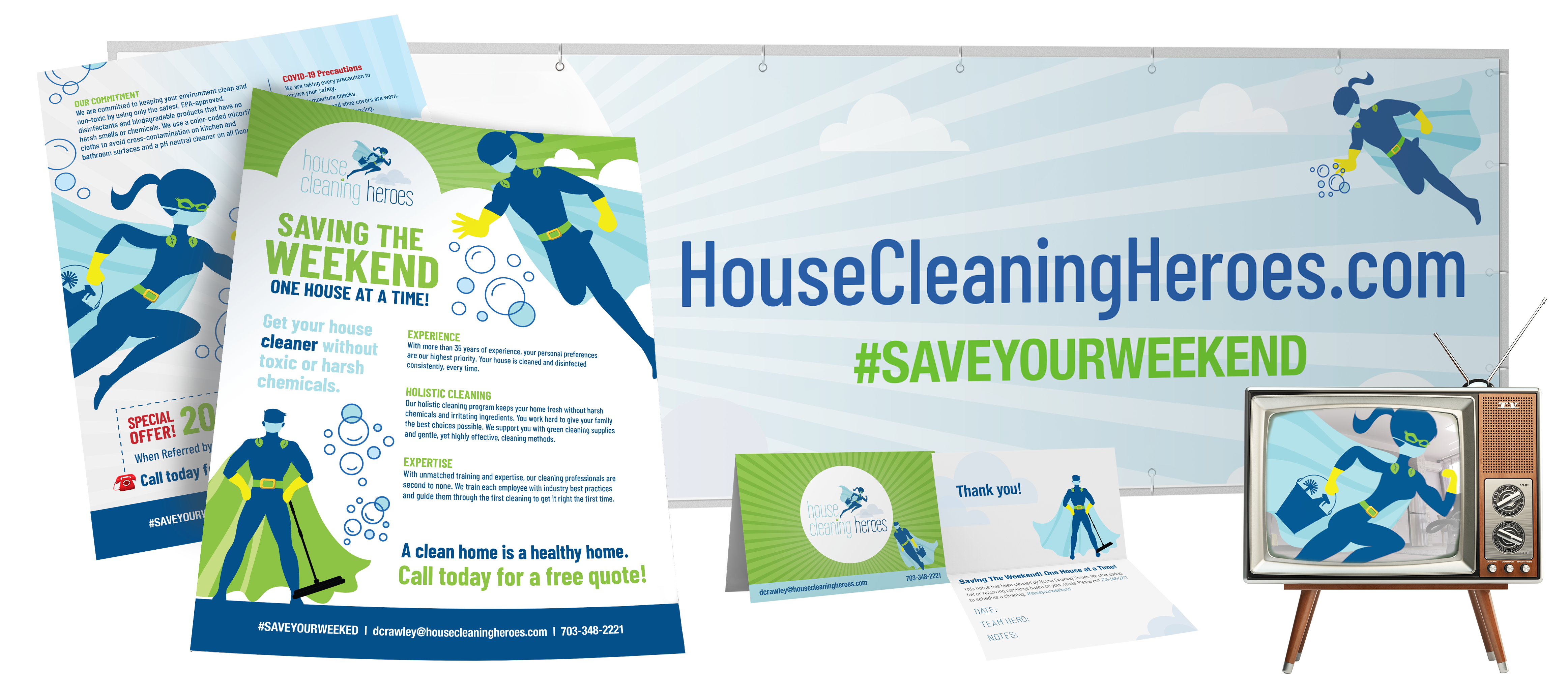 House Cleaning Heroes | Case Study