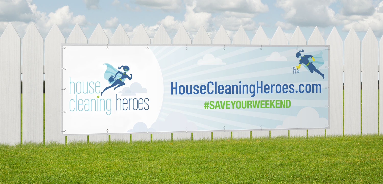 House Cleaning Heroes | Banner Design