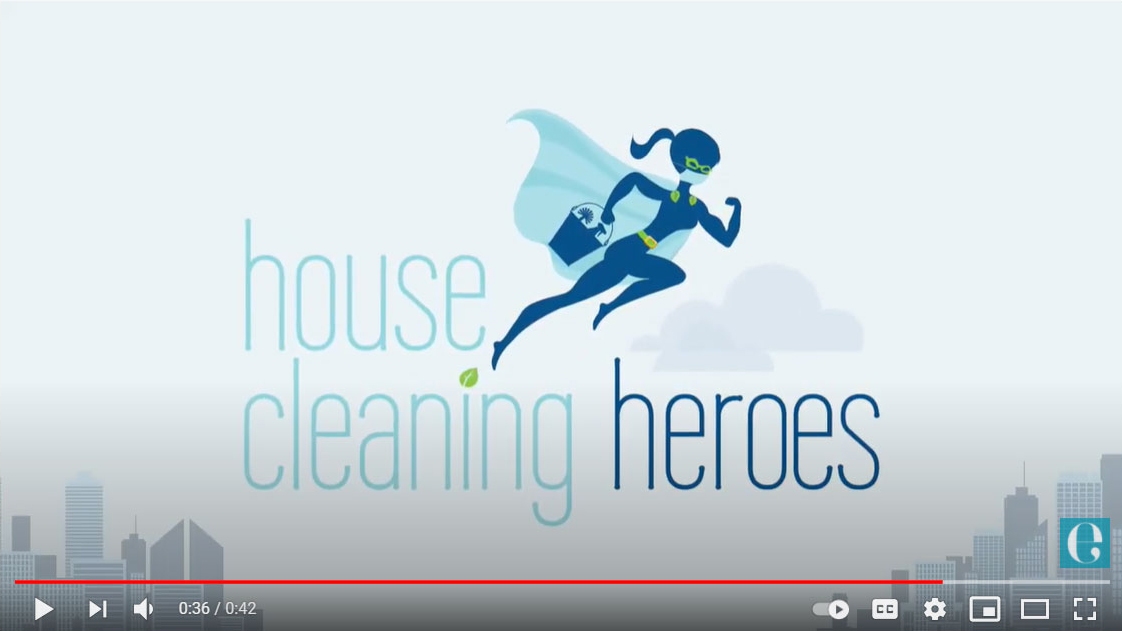 House Cleaning Heroes Video Ad
