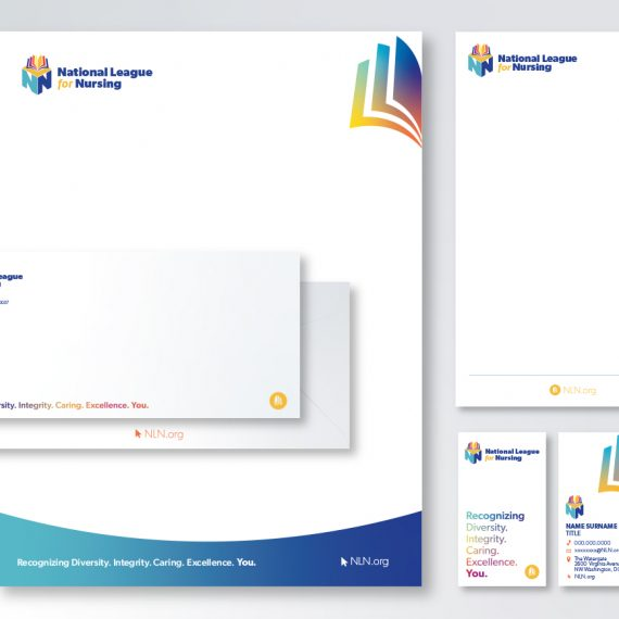 Branded stationery package design